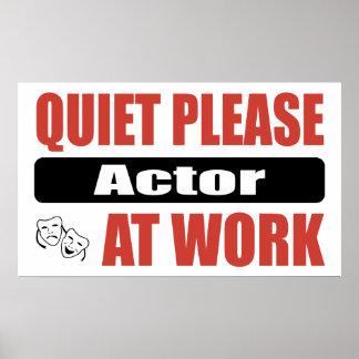 De la tranquilidad actor por favor en el trabajo poster