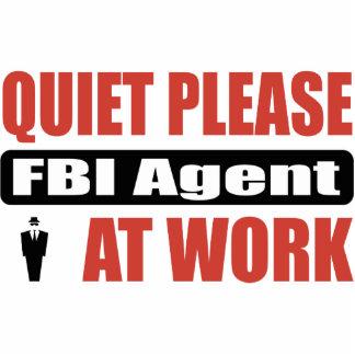 De la tranquilidad agente del FBI por favor en el  Adorno Fotoescultura