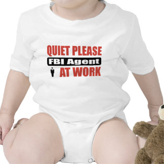 De la tranquilidad agente del FBI por favor en el Camisetas