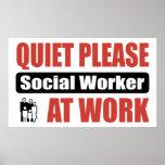 De la tranquilidad asistente social por favor en e posters