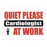 De la tranquilidad cardiólogo por favor en el trab postal