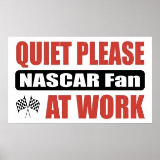 De la tranquilidad fan por favor NASCAR en el trab Impresiones