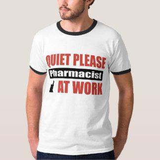 De la tranquilidad farmacéutico por favor en el remeras