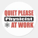 De la tranquilidad físico por favor en el trabajo etiquetas