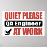 De la tranquilidad ingeniero del QA por favor en e Impresiones