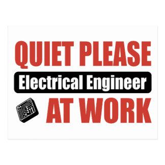 De la tranquilidad ingeniero eléctrico por favor e postal