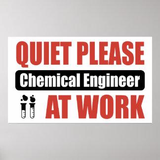 De la tranquilidad ingeniero químico por favor en posters