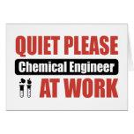 De la tranquilidad ingeniero químico por favor en  felicitacion