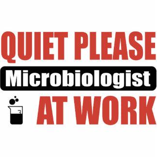 De la tranquilidad microbiólogo por favor en el tr adorno fotoescultura