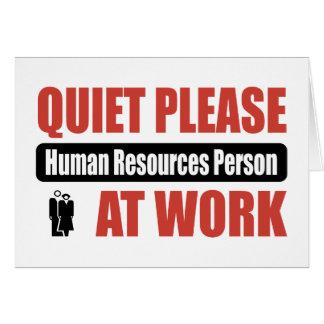 De la tranquilidad persona con muchos recursos hum felicitación