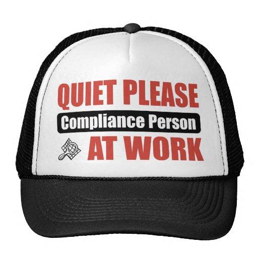 De la tranquilidad persona de la conformidad por f gorras