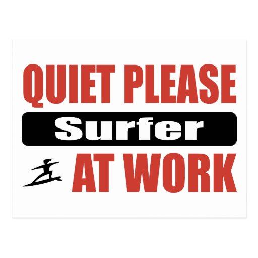 De la tranquilidad persona que practica surf por f postal
