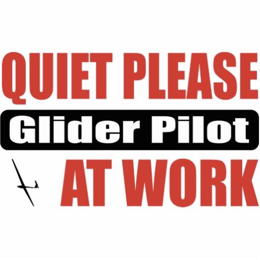 De la tranquilidad piloto de planeador por favor e esculturas fotográficas