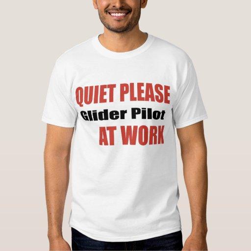 De la tranquilidad piloto de planeador por favor e playeras