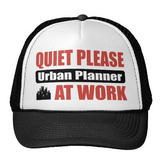 De la tranquilidad planificador urbano por favor e gorro de camionero