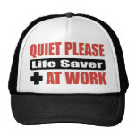 De la tranquilidad salvador por favor en el trabaj gorros bordados