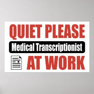 De la tranquilidad Transcriptionist médico por fav Impresiones