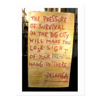de La Vega's street art Postcards