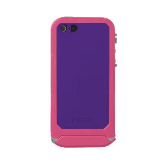 ~ de la VID (un color púrpura rico sólido) Carcasa De Iphone 5 Incipio Atlas Id