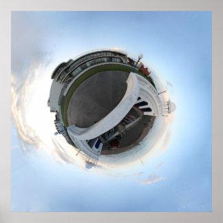 De La Warr Pavilion Planet Poster