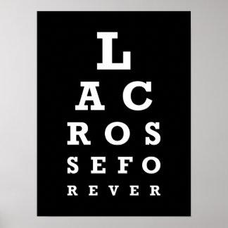 De LaCrosse poster para siempre