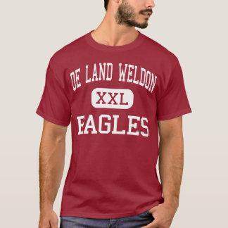 De Land Weldon - Eagles - High - De Land Illinois T-Shirt