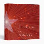 """De las """"carpeta roja recetas del navidad"""" de la es"""