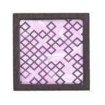 de las direcciones rosa mezclado suavemente cajas de joyas de calidad