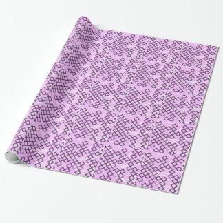 de las direcciones rosa mezclado suavemente papel de regalo