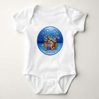 De las escuelas bebé del regalo hacia fuera body para bebé