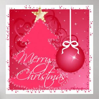 de las Felices Navidad Poster