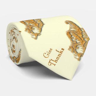Dé las gracias corbatas personalizadas