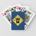 De las koalas de la cruz naipes aquí cartas de juego