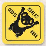 De las koalas de la cruz práctico de costa aquí posavasos