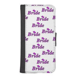 De las novias amor simplemente funda cartera para teléfono