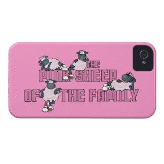 De las ovejas caso rosado del iPhone 4 de There™ iPhone 4 Carcasas
