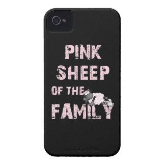 De las ovejas caso rosado del iPhone 4 de There™ iPhone 4 Case-Mate Cárcasa