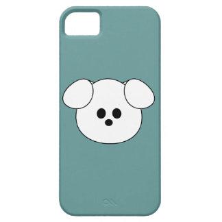 """De las patas """""""" del perrito del caso del iPhone 5  iPhone 5 Cárcasa"""