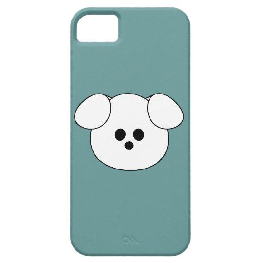 """De las patas """""""" del perrito del caso del iPhone 5 Funda Para iPhone SE/5/5s"""