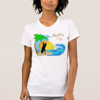 De las resacas camiseta del chica de la persona remera