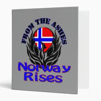 De las subidas de Noruega de las cenizas