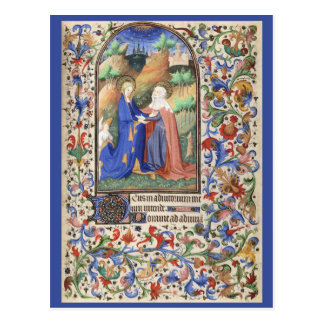 De Levis Book de horas, ejemplo 01 Tarjeta Postal