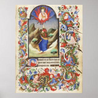 De Levis Book de horas, ejemplo 10 Póster