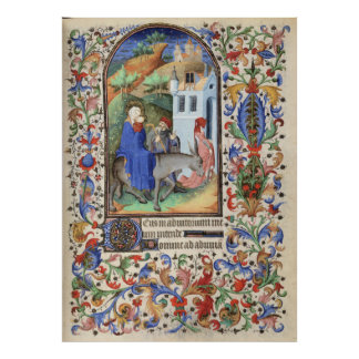De Levis Book of Hours, Illustration 03 Poster