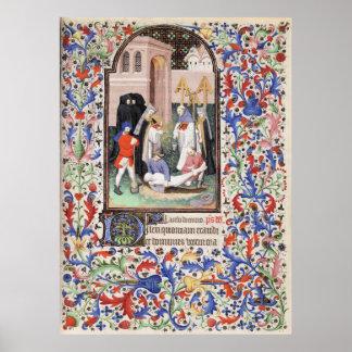 De Levis Book of Hours, Illustration 05 Poster