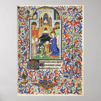 De Levis Book of Hours, Illustration 06 Poster