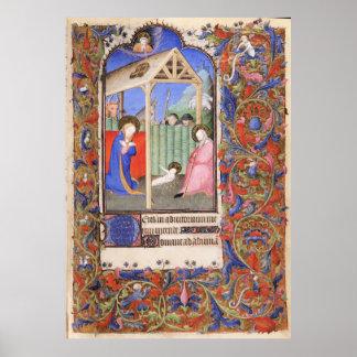 De Levis Book of Hours, Illustration 07 Poster