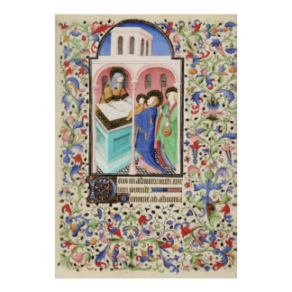 De Levis Book of Hours, Illustration 08 Poster