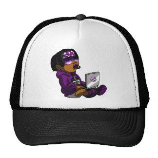 De Lil púrpura muerto Gorro De Camionero