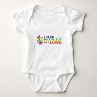 DE Live Let Love Baby Bodysuit